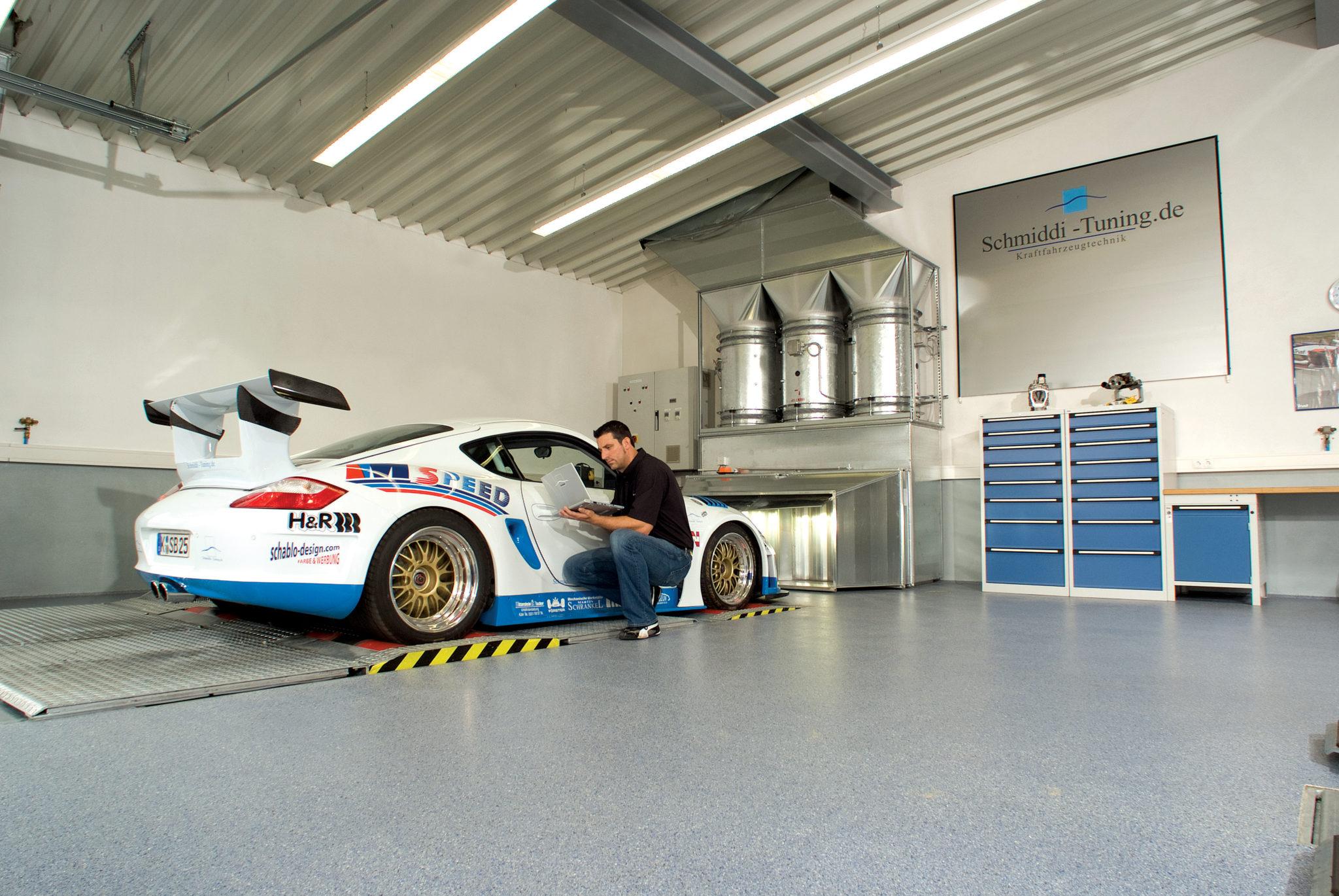 Silikal FLoor -Automobile Floor