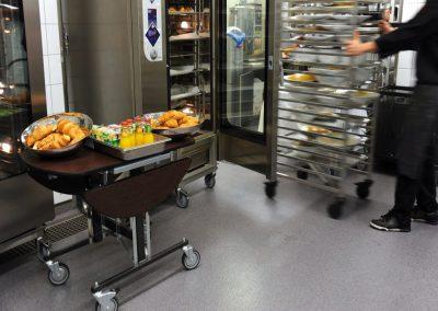Commercial Kitchen Floor
