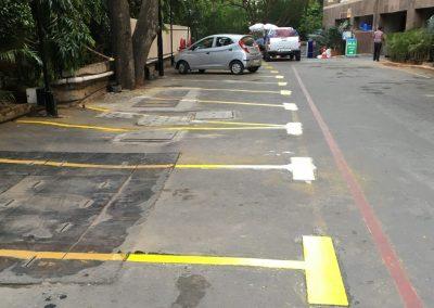 Car Bay Marking