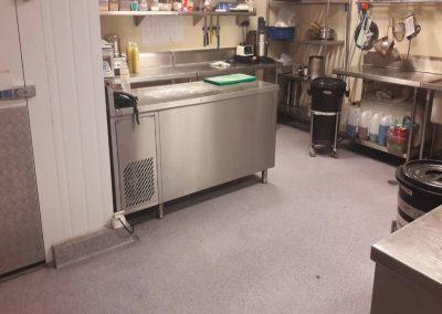 Hotel Kitchen Floor