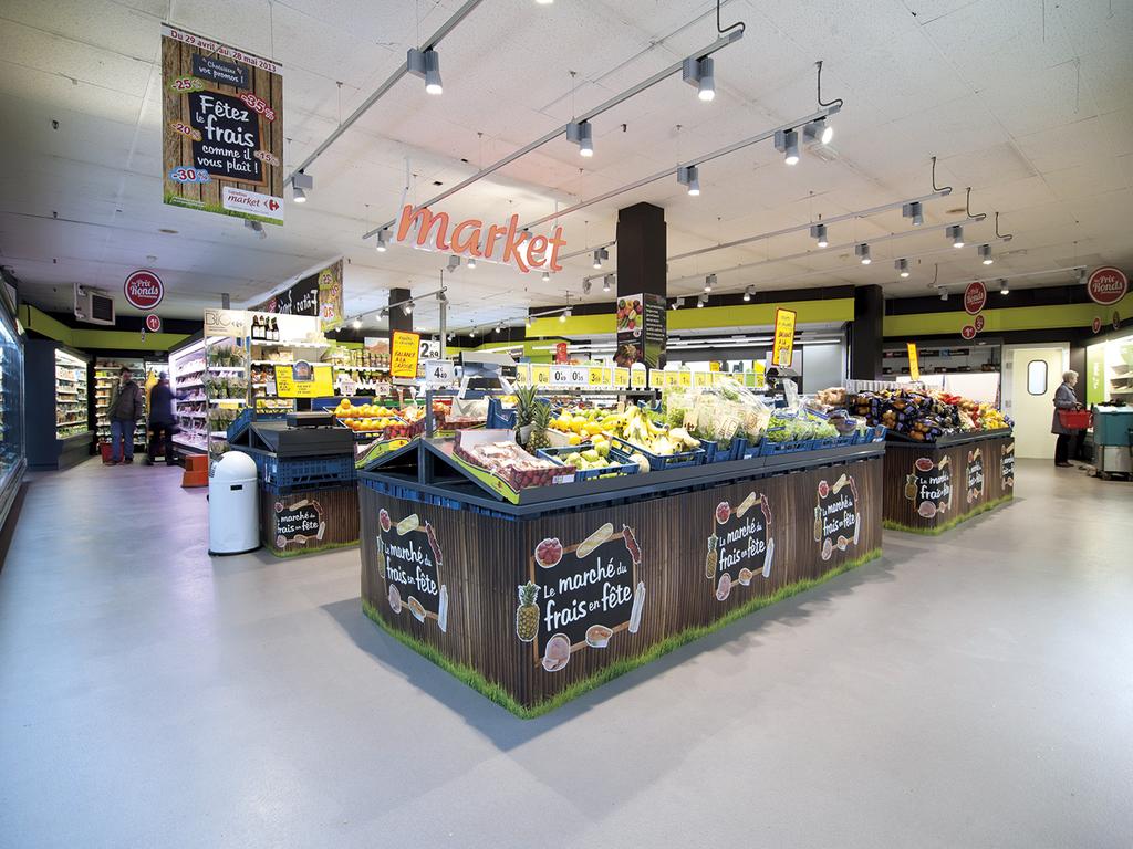 Silikal Floor - Supermarket